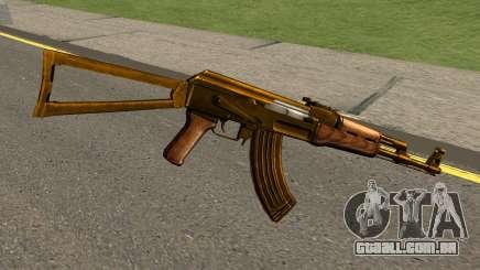 AK47 Gold para GTA San Andreas