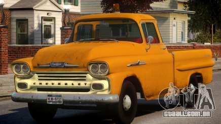 1958 Chevrolet Apache Used para GTA 4
