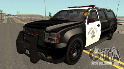 Declasse Granger SAHP Police GTA V IVF para GTA San Andreas