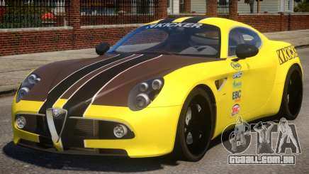 Alfa Romeo 8C PJ para GTA 4
