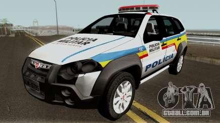 Fiat Palio Weekend Locker PMMG para GTA San Andreas