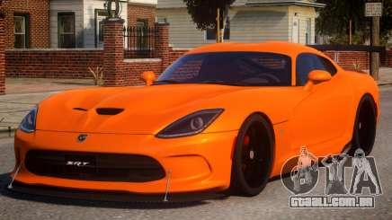 Dodge Viper 2013 para GTA 4