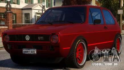 VW Golf GTI MK1 para GTA 4