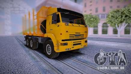 KAMAZ 6460 Caminhão para GTA San Andreas