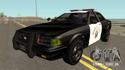 Vapid Stainer SAHP Police GTA V IVF para GTA San Andreas