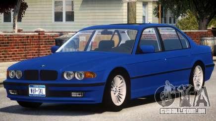 1998 BMW 750 E38 para GTA 4