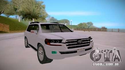 Toyota Land Cruiser 200 Offroad para GTA San Andreas
