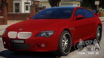 BMW 6-Series Stock para GTA 4