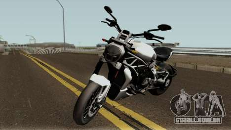 Ducati X Diavel S 2018 para GTA San Andreas