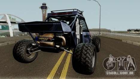 Predator X-18 Intimidator para GTA San Andreas vista direita