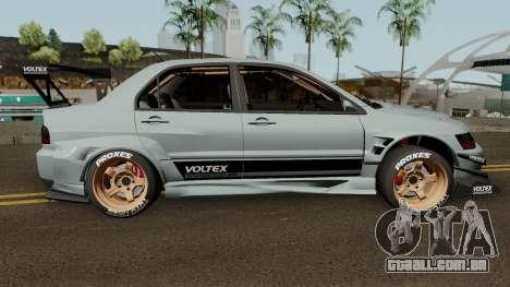 Mitsubishi Lancer Evolution IX Voltex Edition para GTA San Andreas