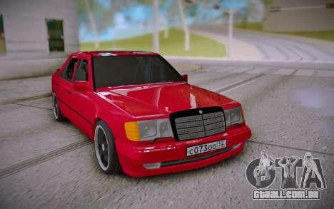 Mercedes-Benz E500 W124 Brabus para GTA San Andreas
