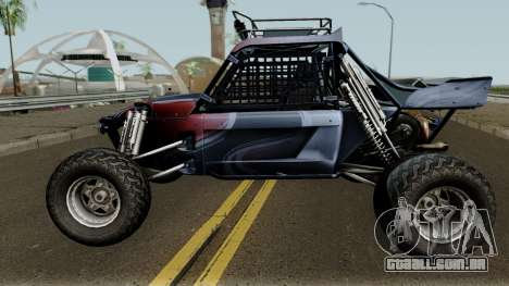 Predator X-18 Intimidator para GTA San Andreas esquerda vista