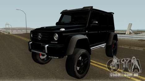 Mercedes-Benz G550 4X4 para GTA San Andreas