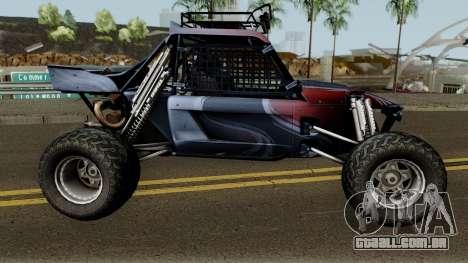 Predator X-18 Intimidator para GTA San Andreas vista traseira