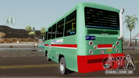 Buseta Mazda T para GTA San Andreas