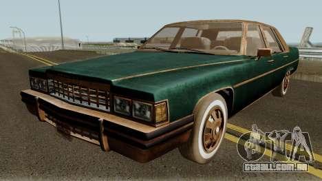 Cadillac Fleetwood Beaten 1985 v1 para GTA San Andreas