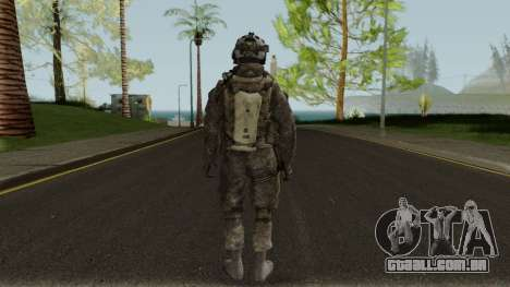 German Special Forces Skin para GTA San Andreas