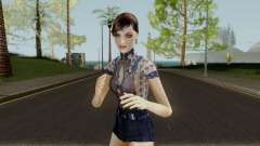 Jemma Country Denim Dress para GTA San Andreas