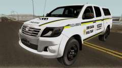 Toyota Hilux do Comando Ambiental para GTA San Andreas