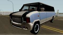 Modificated News Van para GTA San Andreas