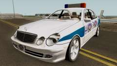 Mercedes Benz E500 Turkish Police Car San Fierro para GTA San Andreas