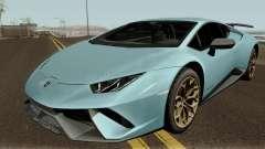 Lamborghini Huracan Perfomante 2017 para GTA San Andreas
