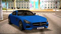 Mercedes-Benz GTS Blue para GTA San Andreas