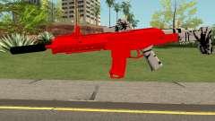 M4 De Trolencio911 Roja para GTA San Andreas