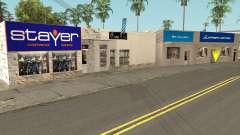 New Sports Stores para GTA San Andreas