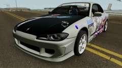 Nissan Silvia S15 Itasha Sayo and Lisa 2000