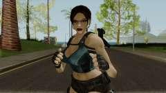 Lara Well Armed (Big Stuff Version) para GTA San Andreas