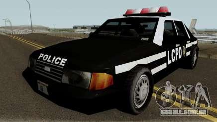 New Police LCPD Black para GTA San Andreas