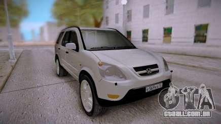 Honda CR-V White para GTA San Andreas