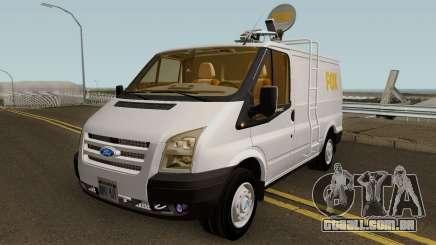 Ford Transit News Car (FOX TV) para GTA San Andreas