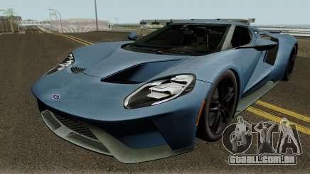 Ford GT 2017 HQ para GTA San Andreas