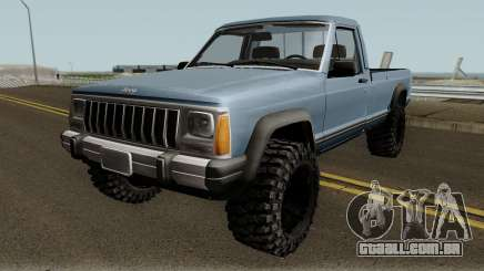 Jeep Comanche para GTA San Andreas
