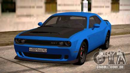2018 Dodge Challenger para GTA San Andreas