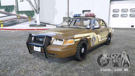 Ford Crown Victoria Sheriff pack [add-on] para GTA 5