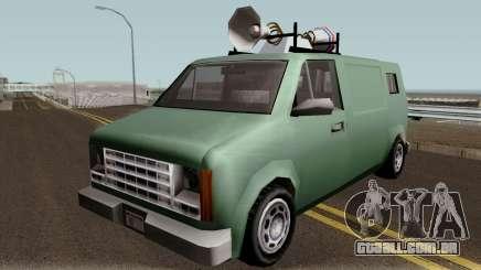 New News Van IVF para GTA San Andreas