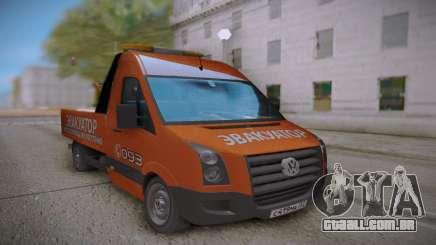 Volkswagen Crafter Towtrack para GTA San Andreas