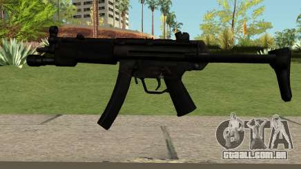 MP5 Black para GTA San Andreas