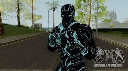 Ironman Mk4 Tron Legacy Armor para GTA San Andreas