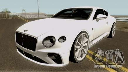 Bentley Continental GT First Edition 2018 para GTA San Andreas