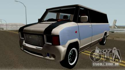 Modificated News Van para GTA San Andreas