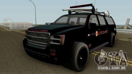 Lifeguard Granger GTA 5 para GTA San Andreas