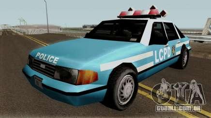 New Police LCPD Blue para GTA San Andreas