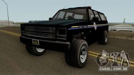 Police Rancher XL GTA 5 para GTA San Andreas