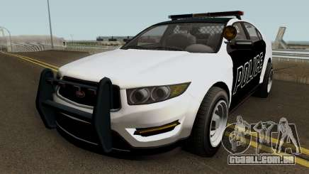 Police Interceptor GTA 5 para GTA San Andreas