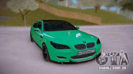 BMW M5 E60 DR para GTA San Andreas